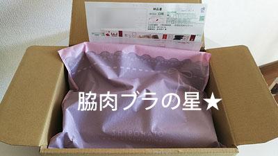 べっぴんブラがシンプルな梱包で届きました